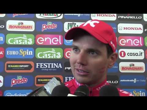 Rein Taaramae - Winner 20th stage Giro d'Italia 2016 - Post-race interview