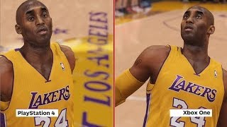 NBA 2K14 - PS4 vs  Xbox One Graphics Comparison