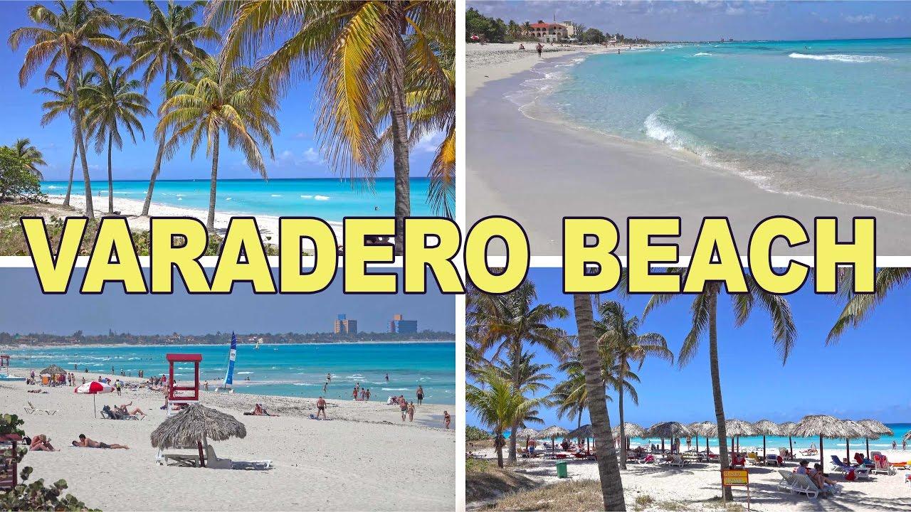 Varadero Beach Cuba 4k