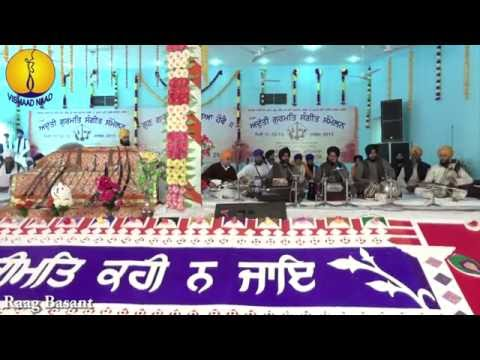AGSS 2015 - Raag Basant : Bhai Satninder Singh ji Bodal
