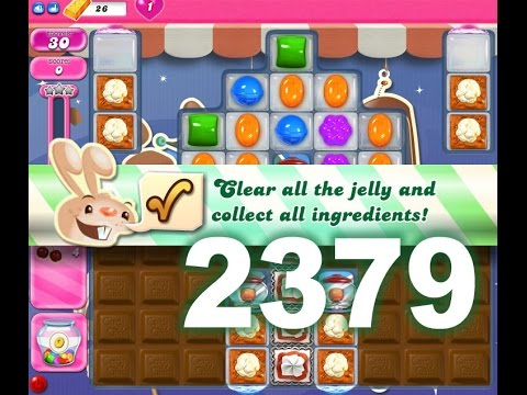 Candy Crush Saga Level 2379 (3 stars, No boosters)