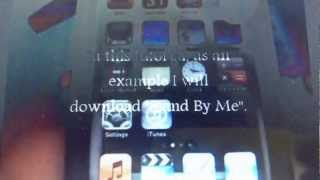 Download free mp3 songs onto iPhone or iPod touch without jail breaking in minute