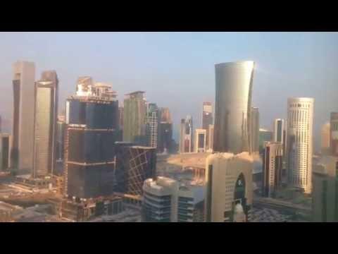 My room at Ezdan Hotel West Bay,Doha,Qatar.