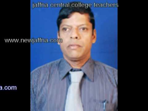 Jaffna Central College teachers