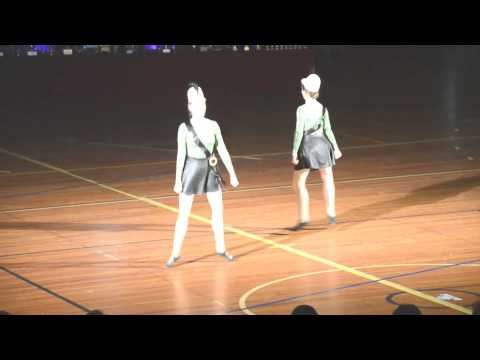 "SHDA - ""Marching Girls"", Victoria & Olivia Open Duo Choreography Winners Gosford NSW 2014"