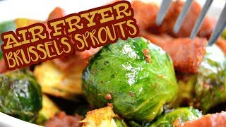 Crispy Paprika Brussels Sprouts | AIR FRYER RECIPES | The Starving Chef