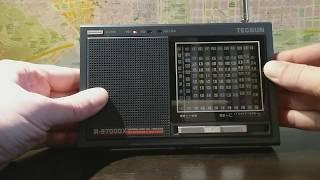 Tecsun R-9700DX обзор.