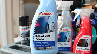 'New' SONAX Brilliant Shine Detailer - Water Test