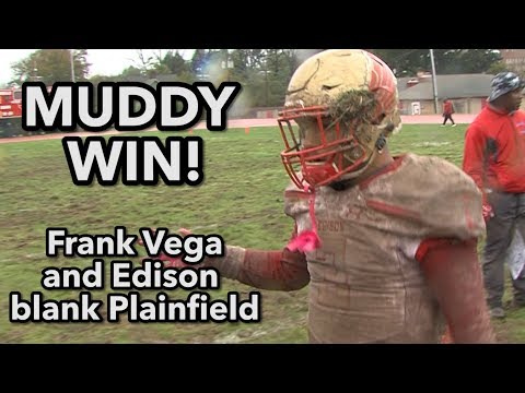 Edison 15 Plainfield 0 | Eagles Get 6th Win In Mud Bowl!