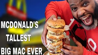 giant big mac challenge