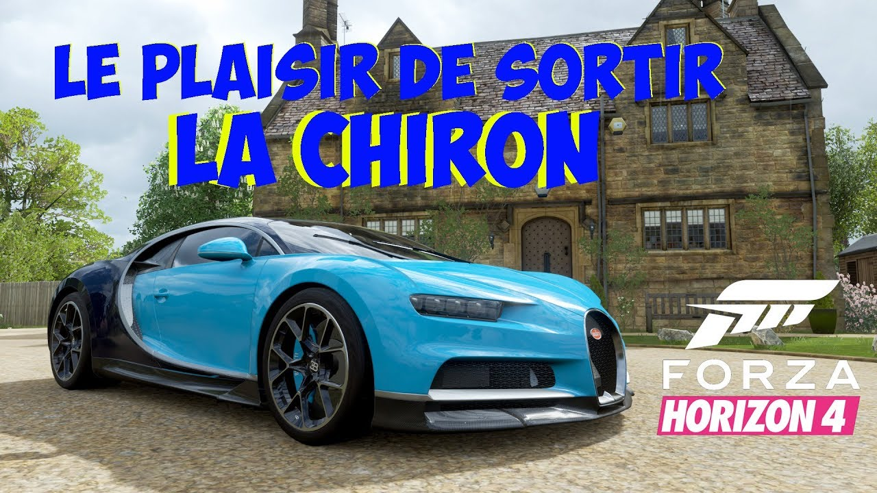 Forza Horizon 4 Bugatti Chiron - YouTube