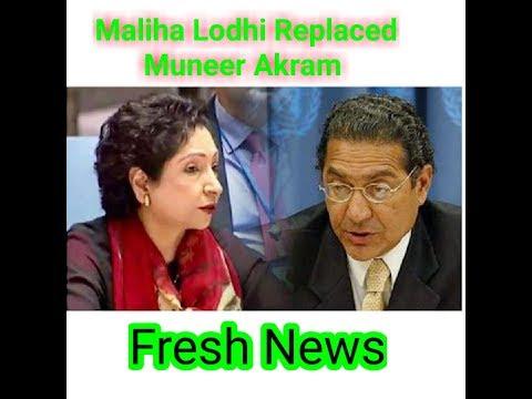 Maliha Lodhi Replacement Munir Akram