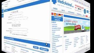 Un site d'achats de médicaments vétérinaire