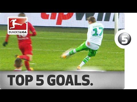 Top 5 André Schürrle Goals - Wolfsburg