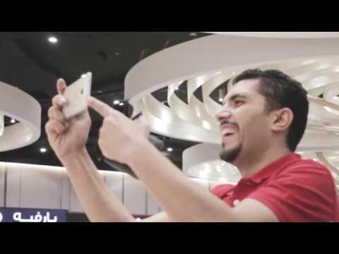 Augmented reality setup at Hyatt Plaza at Doha Qatar by Ink In Caps