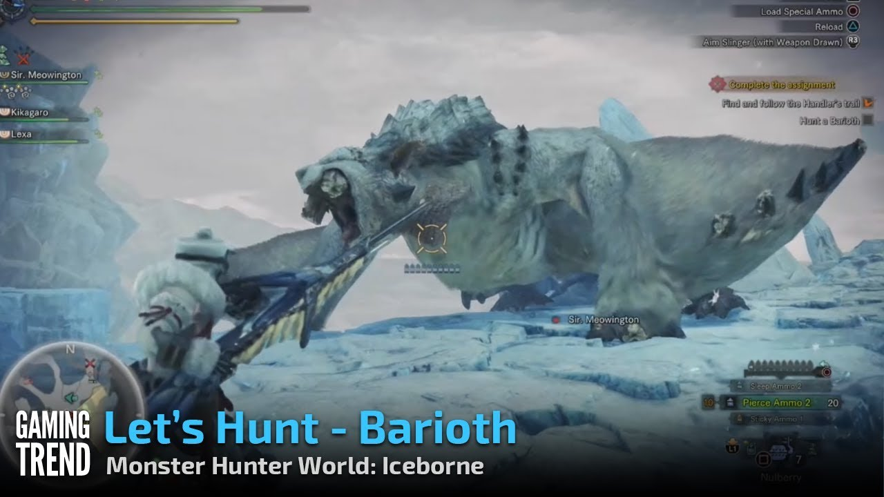Master quests, master hunters, masterpiece — Monster Hunter