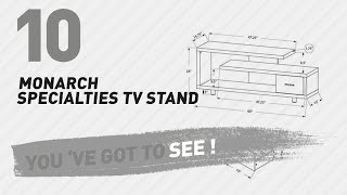 Monarch Specialties TV Stand // New & Popular 2017