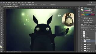 Speed Painting - Underwater Totoro
