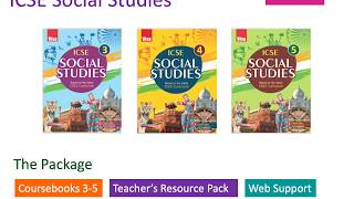 School books for CISCE curriculum for the ICSE schools.