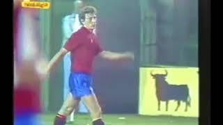 Spagna - Galles 3-0 - Qualificazioni Mondiali 1986 - 7° gruppo eliminatorio europeo