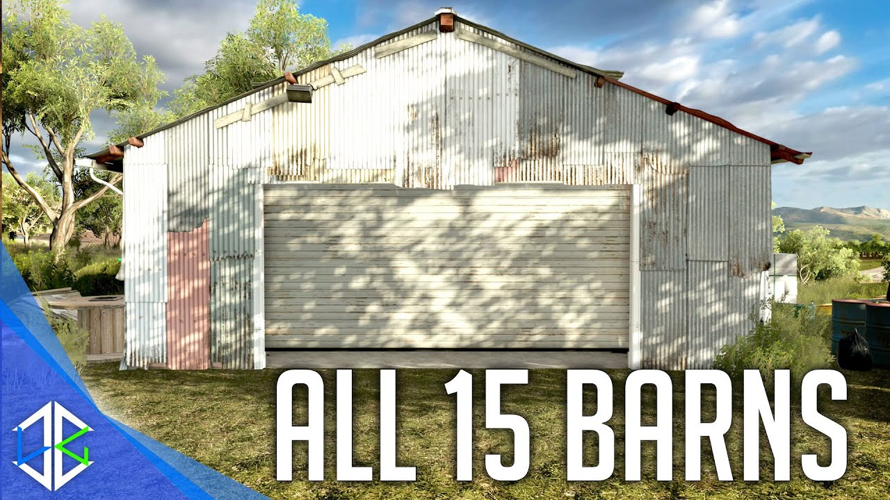 Forza horizon 3 unlock barn finds