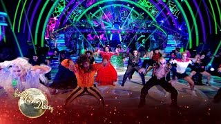 Halloween Group Dance to 'You Spin Me Round' by Dead or Alive - Strictly 2016: Halloween Week