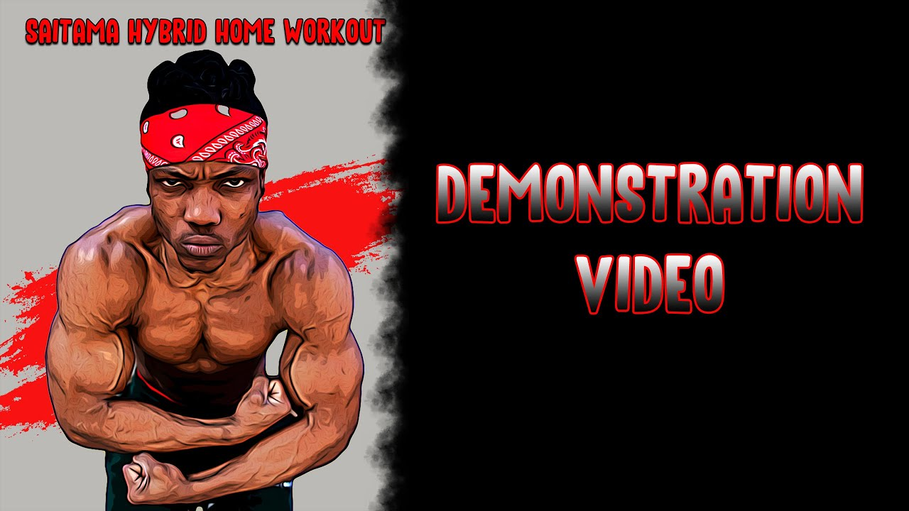 Saitama Workout - SAITAMA WORKOUT DEMONSTRATION VIDEO - YouTube