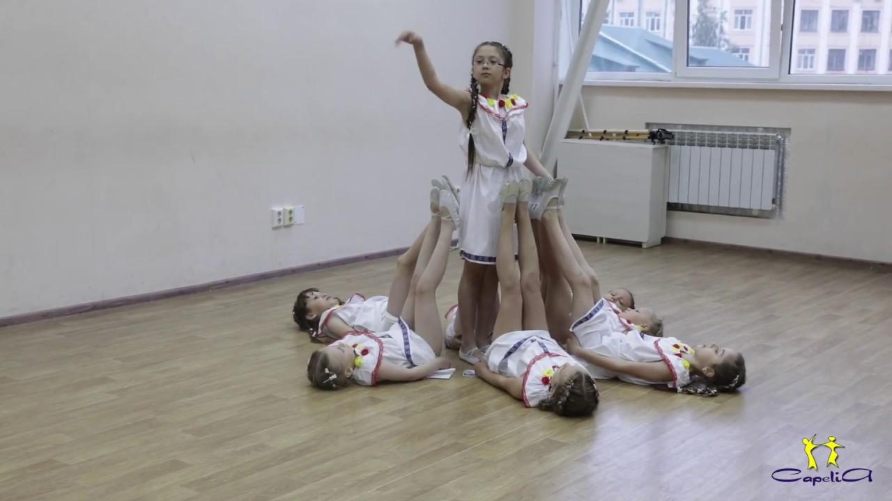 Девочки 7-10 лет. Выступление на Капустнике