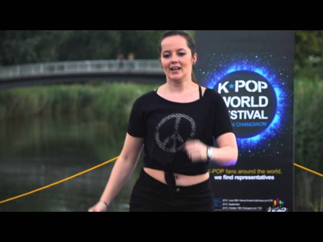 [K-Pop World Festival 2015 - Austria] Karola - Wiggle Wiggle, Like This