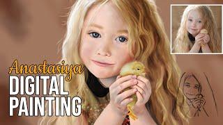 How to paint a Kid (and a chick)~Anastasiya