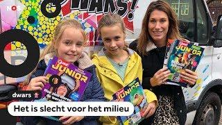 Dwars: Minne baalt van plastic om tijdschriften