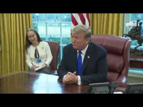President Trump Meets with the Vice Premier of the People's Republic of China