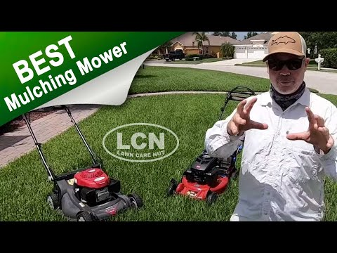 Best Mulching Lawn Mower 2019 | Honda HRX vs Toro Super Recycler