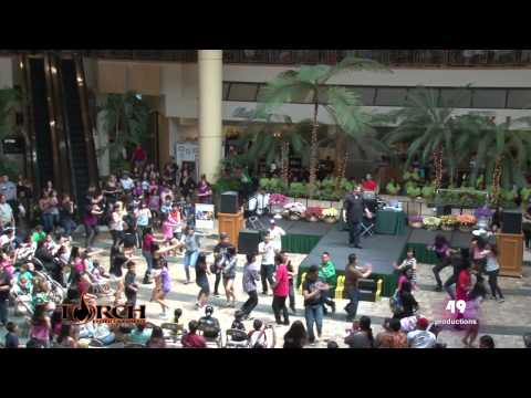 "Flash Mob at Windward Mall, Kaneohe, Hawaii to ""Firework"" by Katy Perry.  (Official Video)"
