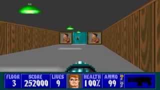 Wolfenstein 3D - Episode 6, Floor 3