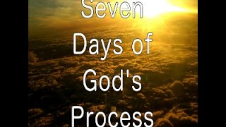 7 days of gods process   session one