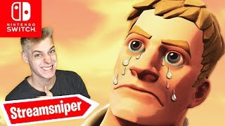Streamsniper REALTALK! HE has been BANNED (?) | Fortnite Nintendo Switch