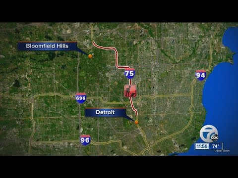 Massive I-75 construction project underway in Oakland County