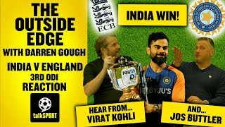 CLEAN SWEEP! INDIA WIN ODI SERIES! 🏆 India beat England | 3rd ODI Reaction | The Outside Edge