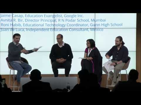 Session at Google Global Education Symposium, Mountainview