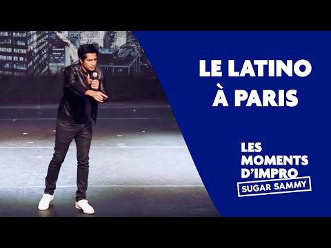 Humour: Sugar Sammy et le Latino à Paris