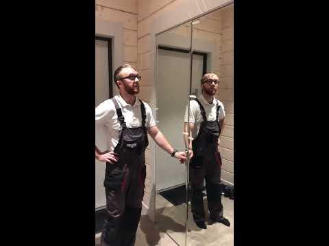 двери раздвижные гармошкой в гардеробную