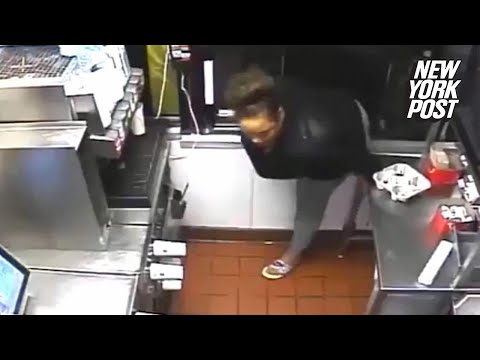 McDonald's robber hops in drive-through window to serve herself | New York Post