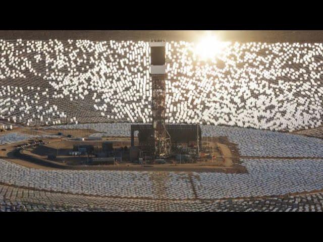 California Solar Power Plants Ignite Birds Mid Flight Youtube
