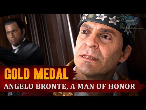 Red Dead Redemption 2 - Mission #44 - Angelo Bronte, a Man of Honor [Gold Medal]