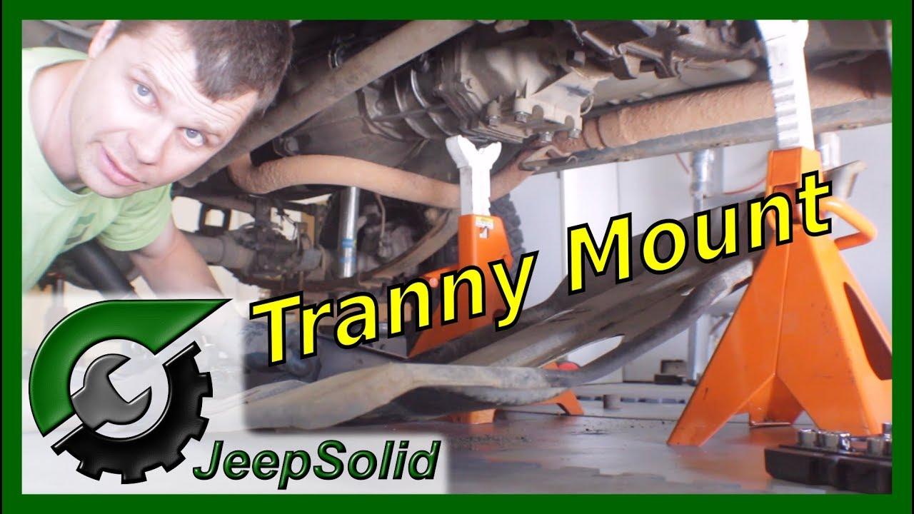 medium resolution of jeep wrangler yj transmission mount