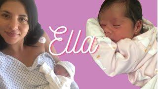 تعرفوا ع بنتي إيلا | الولادة + صدمة حياتي من ليو