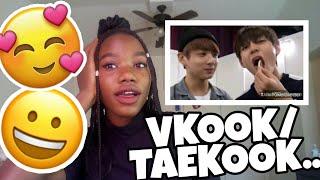 VKOOK/Taekook moments: Hyung REACTION!!