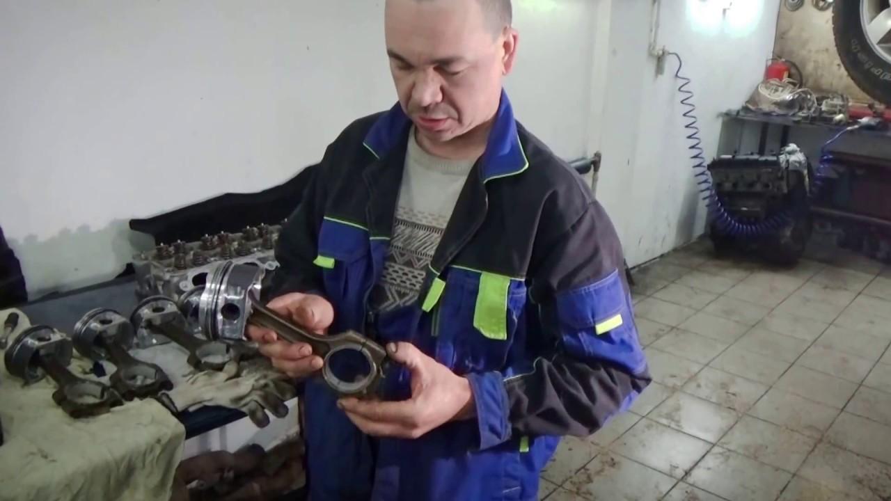 Ремонт двигателя Порше, техническая часть. Сборка. Часть 6