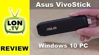 ASUS VivoStick Review - Windows 10 Stick PC - TS10-B017D